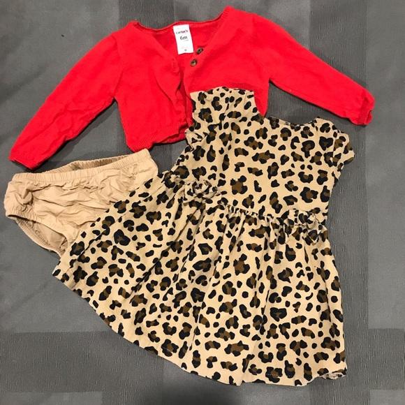 Baby OshKosh Bgosh Baby Girls Print Jumper Leopard